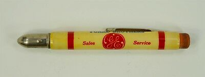 EXCELLENT+ 1940s Vintage GE Equipment Foard Brothers Bullet Pencil - Hydes, MD