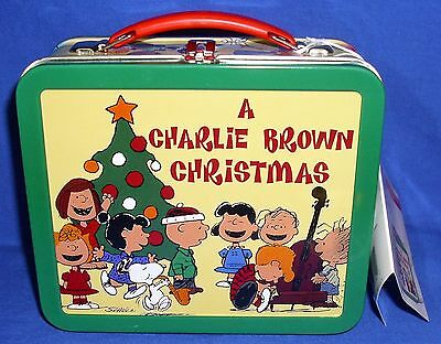 Peanuts Hallmark School Days Limited Time Lunch Box A Charlie Brown Christmas