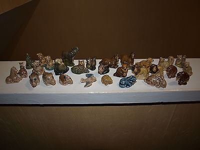 29 Vintage Wade Collection porcelain animals
