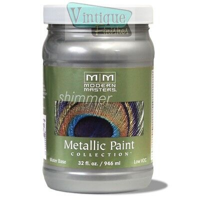 Modern Masters Metallic Paint - Quarts - Free Expedited Shipping!