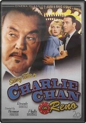 Sidney Toler in Charlie Chan in Reno DVD 1939 American film directed by Norman