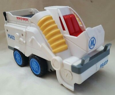 Rokenbok System PS422 Power Street Sweeper Truck  Rokenbok Toy Company Untested