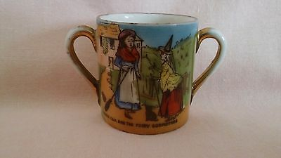 Vintage Very Rare Gemma Crested China Cup With Cinderella & The Fairy Godmother.