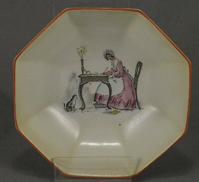 "Shelley ""lady At Writing Desk"" Slater Series Bowl In Excellent Condition"