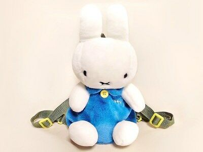 Very Cute Children's Miffy Backpack Plush Toys Ruck sack Japan Limited NM Free