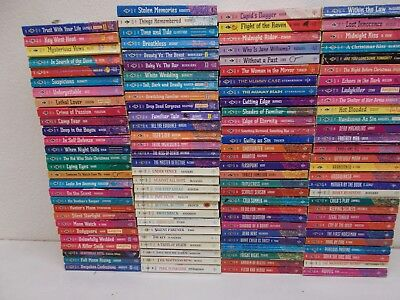115 HARLEQUIN INTRIGUE ROMANTIC SUSPENSE late '80's to 1995
