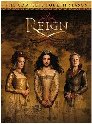 Reign: The Complete Fourth Season - 4 DISC SET (REGION 1 DVD New)