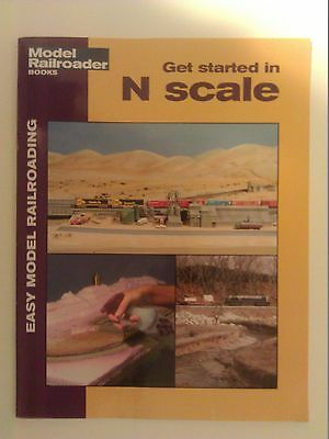 Kalmbach Booklet Get Strarted in N Scale Item # 12414
