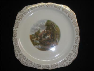 Collectable Porcelain Plate Lord Nelson Ware Constable Valley Farm England