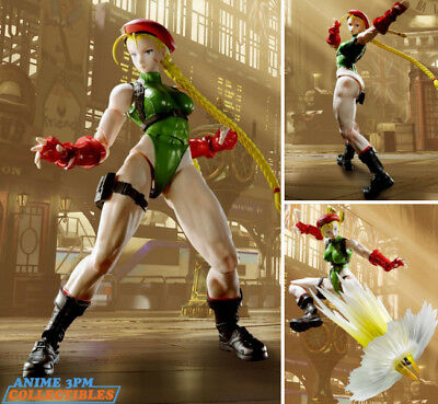 Bandai S.H. Figuarts - Street Fighter V - Cammy Action Figure AUTHENTIC!!!