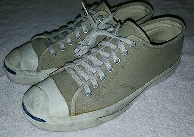 Vintage CONVERSE JACK PURCELL Tennis Sneakers Shoes Men's Sz 10 USA