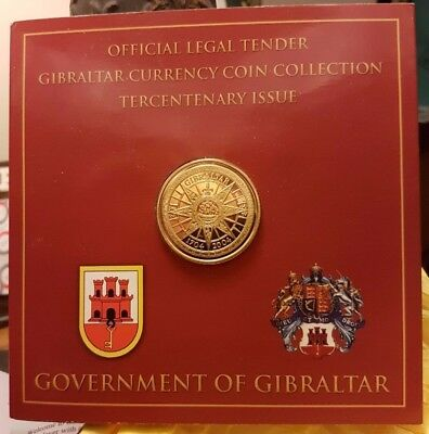 Gibraltar 2004 300th Anniversary of British Occupation 8 Coins Mint Set