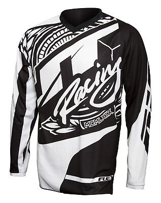 Jt Racing - 2017 Flex Victory  Jersey, Black/white