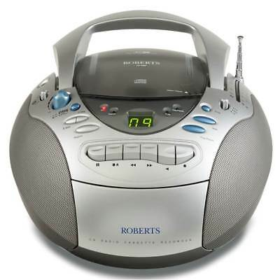 Roberts CD Radio Cassette Portable Player CD9960 FM/MW/LW  Boombox Stereo