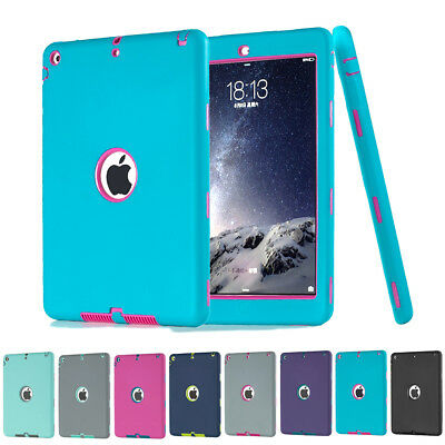 Heavy Duty Shock Dirt Proof Case Protector Cover for Apple iPad 4 3 2/mini/Air