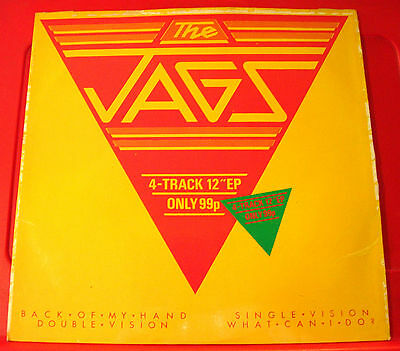 """The Jags Back Of My Hand 12"""" PC UK ORIG 1979 Island Double Vision/Single..VINYL"""