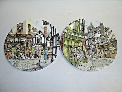 2 LIMITED EDITION PLATES by COLIN WARD in very good condition