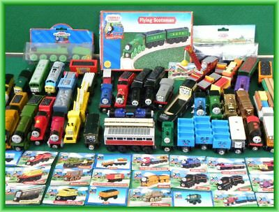 RARE & VINTAGE TRAINS for Thomas and Friends Wooden Railway BRIO engine toy set