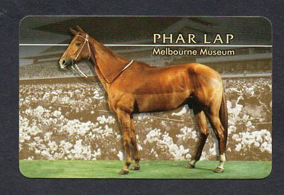 #850.144 vintage swap card -MINT- Named horse, Phar Lap