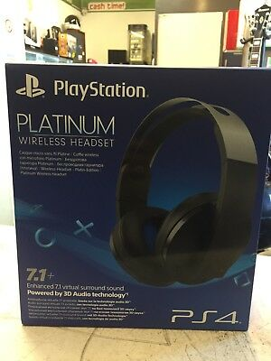 Cuffie Gaming Ps4 Platinum Wireless Headset 7.1+
