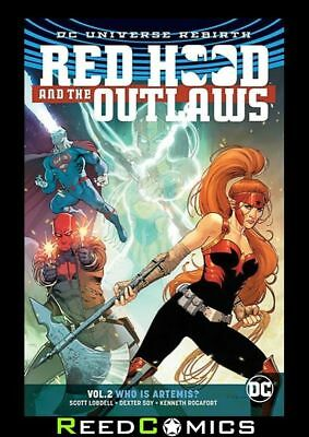 Red Hood And The Outlaws Volume 2 Who Is Artemis Graphic Novel (2016) #7-11