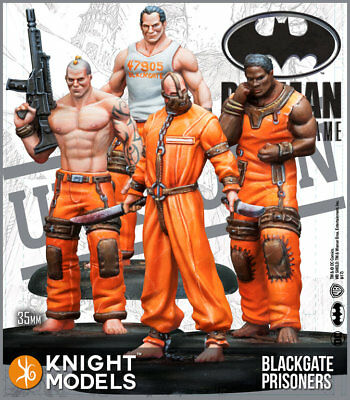 Knight Models Batman Miniature Game Blackgate Prisoners Set