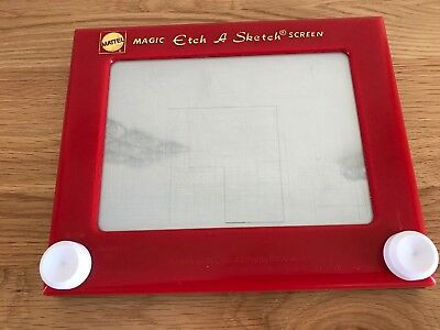 Vintage Mattel Classic Magic Etch A Sketch Screen Toy