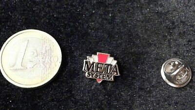 Meta System Pin Badge Logo
