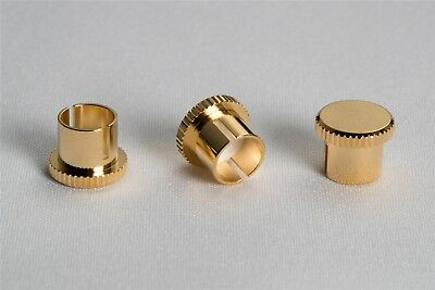Kontak Audio RCA Gold Plated Copper Noise Stopper Caps (Set of 2)