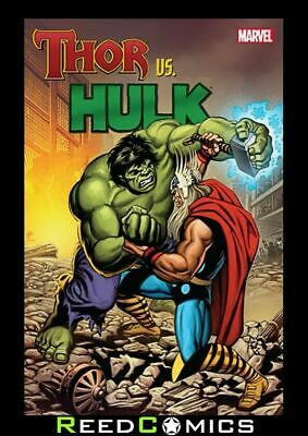 THOR VS HULK GRAPHIC NOVEL New Paperback Collects Greatest Battles (336 Pages)