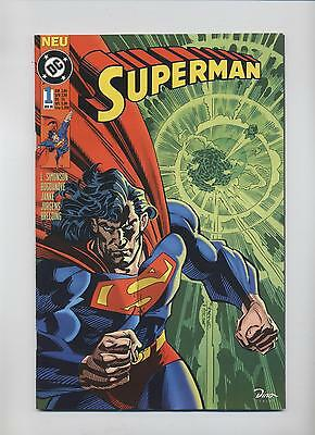 SUPERMAN (deutsch) # 1 - DINO VERLAG 1996 - TOP