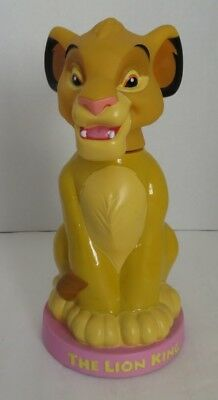 Vintage Simba The Lion King Bubble Bath Figure              (Inv14759)