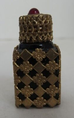 Vintage Miniature France Decorative Perfume Bottle                  (Inv14745)