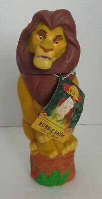 Vintage Mufasa The Lion King Bubble Bath Figure              (Inv14760)
