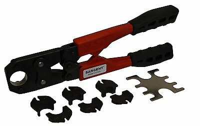 """Sargent 9358 SAK 1-Inch Ultra Lite Size-All 4-in-1 Crimp Tool with 3/8"""" to 1"""""""