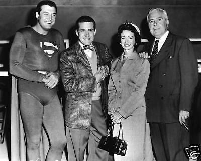 """Superman"" Cast  8x10 Television Memorabilia FREE US SHIPPING"