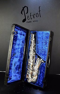 Rare TOP Alt /Alto Saxophone B&S Blue Label+Hard Case -=Made in Germany=-Vintage
