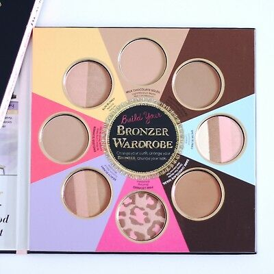 8 bronzers, The little black book of bronzers, Too Faced, Edition limitée