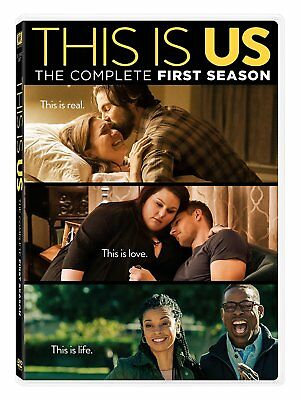 This Is Us: The Complete First Season 1 One (2017, DVD, 5-Disc Box Set) Sealed