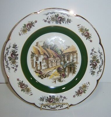 Ascot Service Plate By Wood and Sons England Decorative Wall Plate - Vintage
