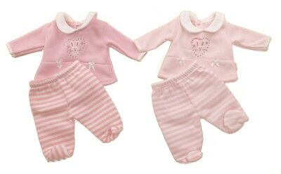 Premature Baby Girl preemie Clothes Top Trousers set Fleece Pink 3-5lbs  5-8lbs