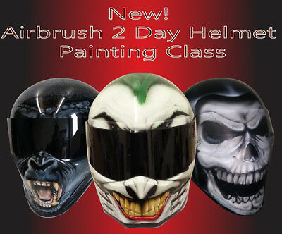 2 Day Character Helmet Painting Lesson