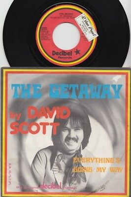 David SCOTT * 1975 Belgian Private GLAM 45 * Listen!