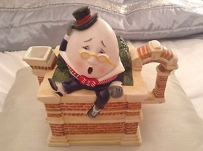 Rare Collectable Novelty Dept 56 Teapot Humpty Dumpty Perfect Condition