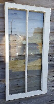 Architectural Salvage - ANTIQUE WINDOW SASH - C. 1900s - 40x20 2 PANE PINTEREST