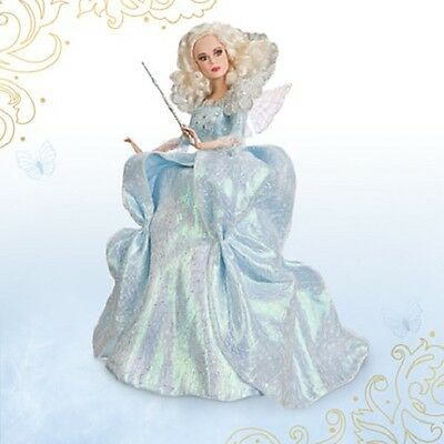 Disney Fairy Godmother Disney Film Collection Doll Cinderella Live Action Film
