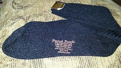 Vintage Pinecraft Socks Men's Stretch Nylon French Boucle  NOS 1 Pair