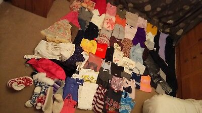 HUGE BUNDLE OF GIRLS CLOTHES 9-10 YEARS INC Designer - 67 items.