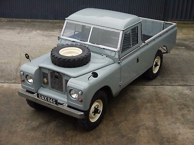 1969 Land Rover Series IIA 109 2.25D - Fully restored!