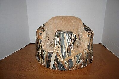 New Bumbo Seat COVER - True Timber Flooded Timber Camo - Safety Strap Ready